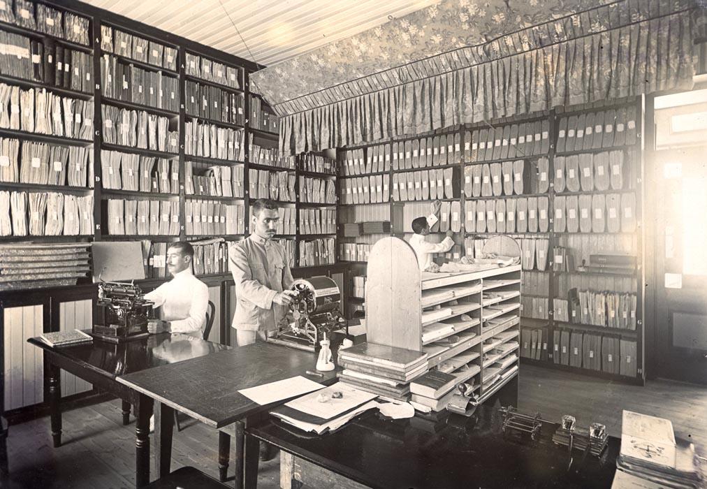 Orde, rust en discipline. Een archief zoals het hoort.