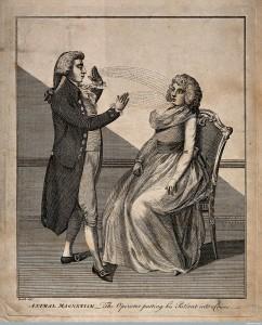 Een vroegere vorm van hypnose, beoefend in de vroege negentiende eeuw