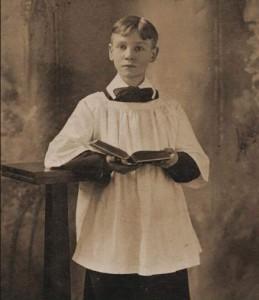 Voorpagina van een recente uitgave van John Gambril Nicholson's Romance of a Choirboy – de expliciet 'uranische' roman werd in eerste instantie alleen in beperkte kring verspreid