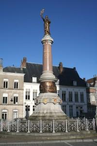 Foto van het Frans monument in Doornik. (fotograaf: Jean-Pol Grandmont)