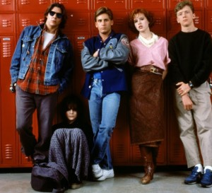De vijf leden van de Breakfast Club.