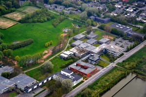De campus van de Kulak vandaag.
