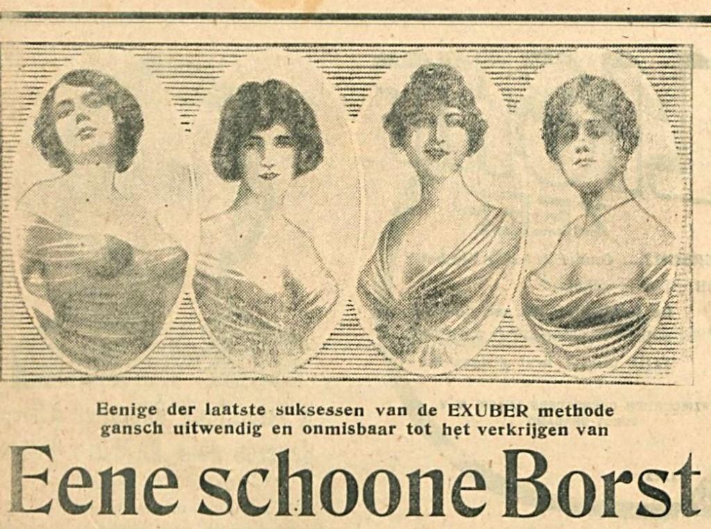 Eene schoone borst, 1922