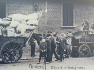 SaartjeVandenBorre-Canada-AntwerpenVertrekEmigranten