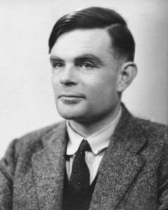 Alan Turing in 1951.