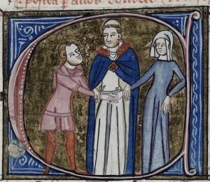 Het huwelijk was niet altijd een blijde gelegenheid.