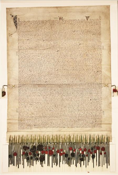 Het Gentse exemplaar van het verdrag van 1347.