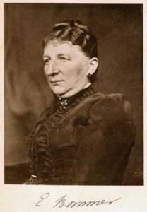 Elise Bommer op latere leeftijd.