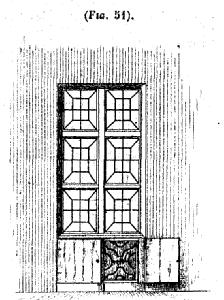 Decoratief traliewerk volgens Guislain.