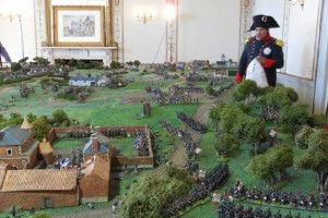 Napoleon overziet zijn slagveld.