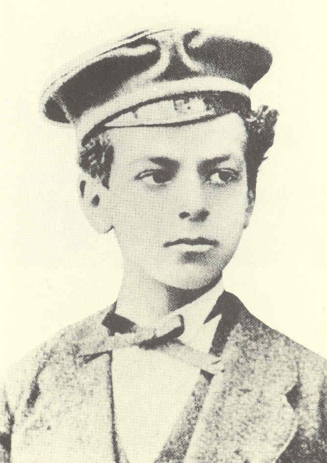 Ettore Schmitz op twaalfjarige leeftijd (1874).