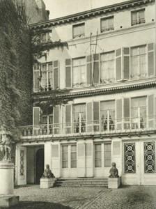 De Galerie Georges Giroux in Koningstraat 26 in Brussel.