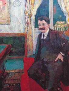 Portret van Georges Giroux.