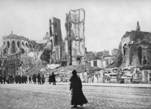 Vluchten uit Antwerpen (1914).