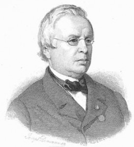 Edouard Ducpétiaux in 1871.