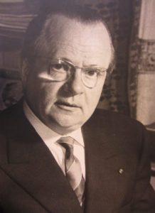 Directeur Victor De Ruyter circa 1950.