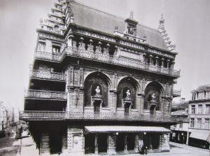 Het bezoek van Leopold II in 1887 stond in het teken van de inhuldiging van het theatergebouw