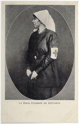 Koningin-verpleegster Elisabeth.
