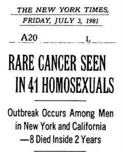 PieterVerstraete-Aids-RareCancerNYT1981